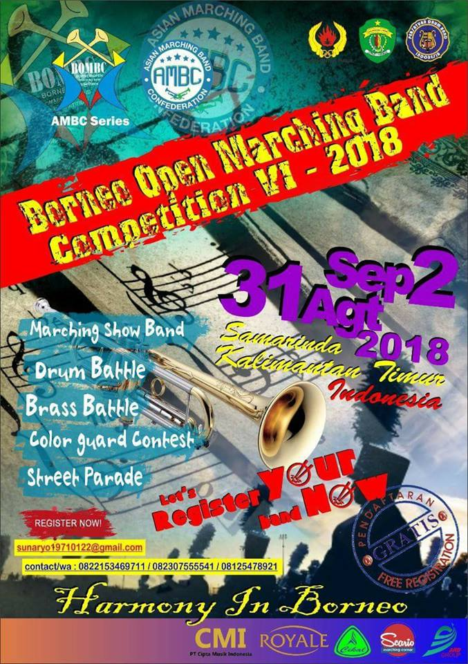 Borneo Open Marching Band Competition 2018