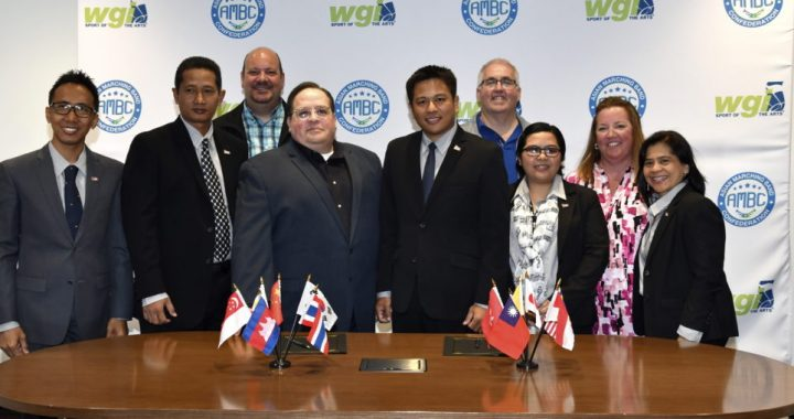 WGI welcomes the Asian Marching Band Confederation