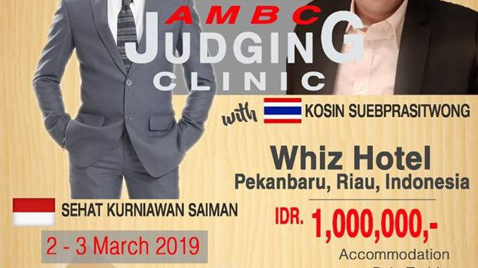 AMBC Judging Clinic, Batch Pekanbaru