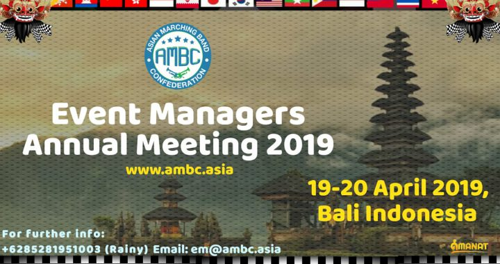 AMBC Event Managers Annual Meeting II -2019
